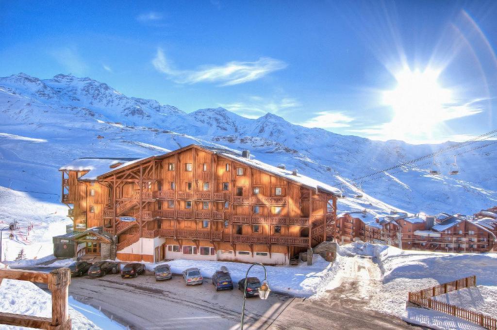 Residence Les Balcons De Val Chaviere Val Thorens Apparthotels