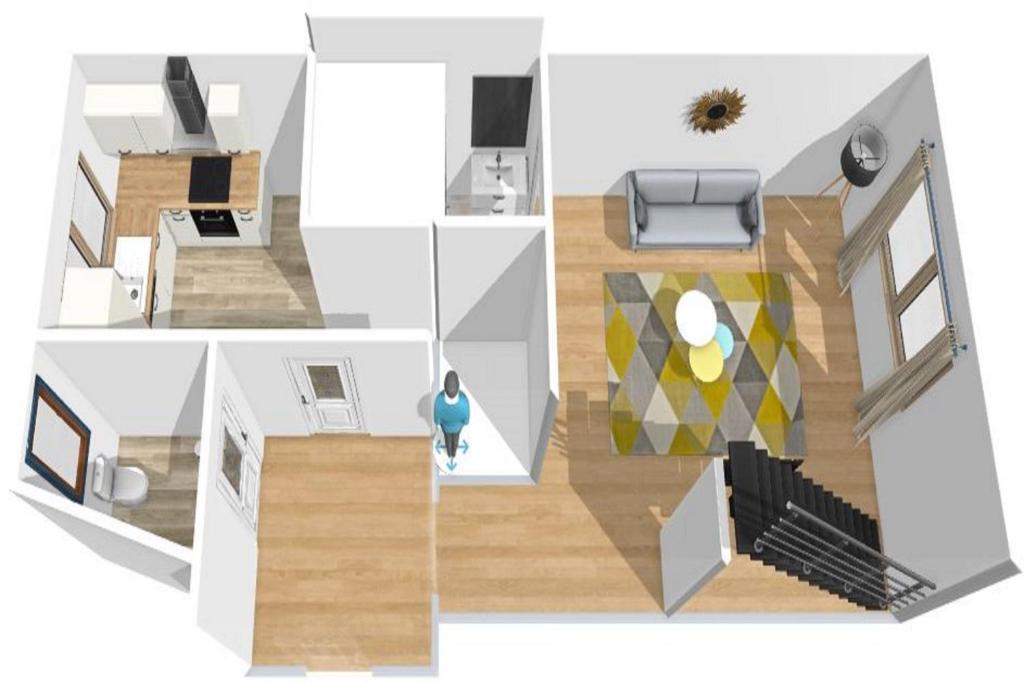 Studio cosy avec mezzanine à 6 mins de Paris, Apartment Saint-Denis