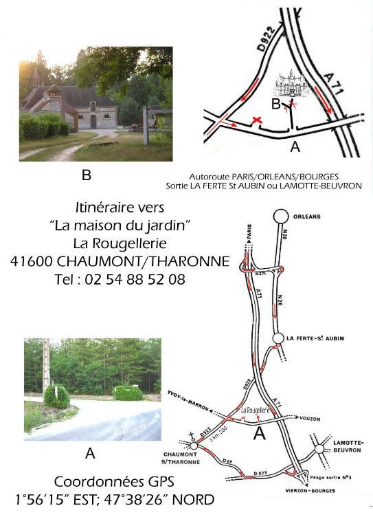 La Maison du Jardin, Holiday home Chaumont sur Tharonne