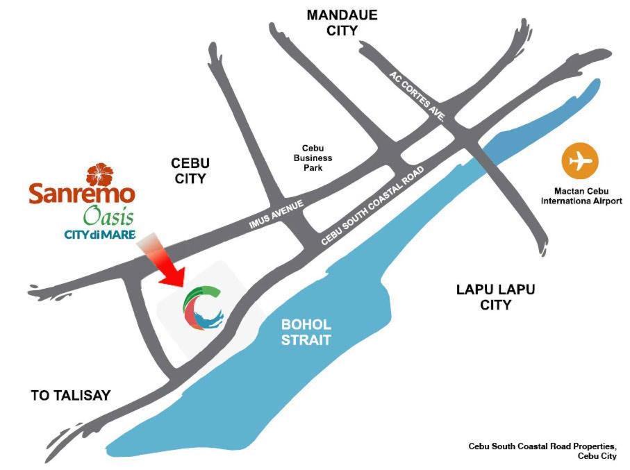 Sta  Maria Homes at Sanremo Oasis, Apartment Cebu