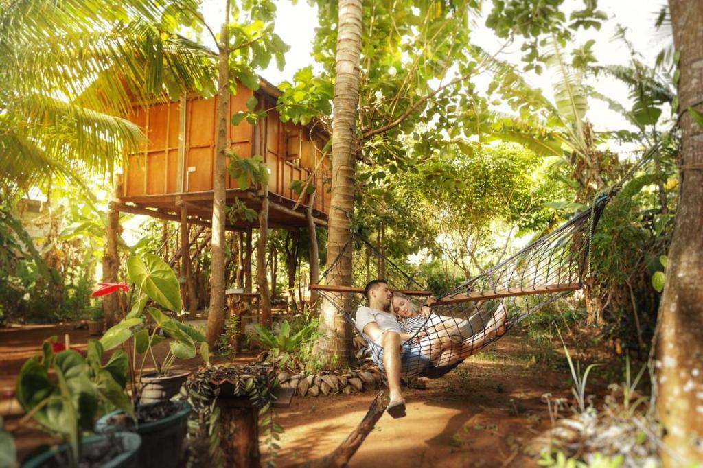 Sigiri Aliya Tree House Bed Breakfast Sigiriya