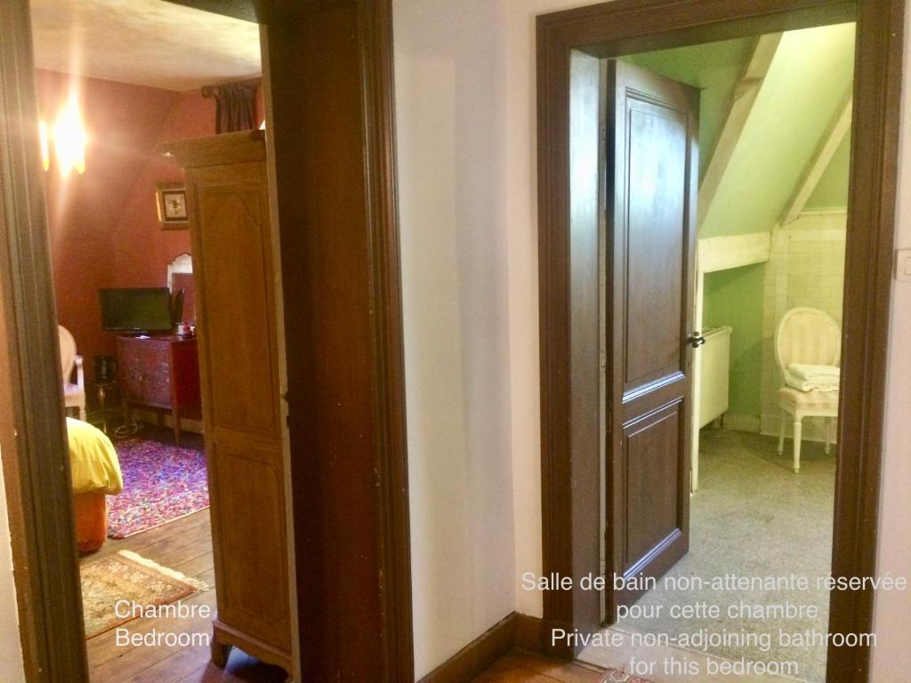 B&B Villa le Vert-Bois, Gästezimmer Spa