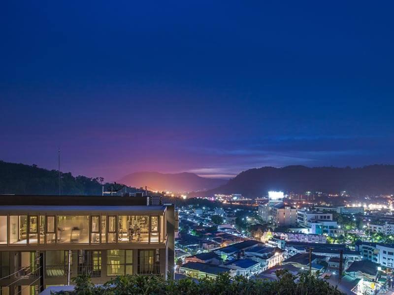 New Luxury skyrise bedroom in Phuket Town, Apartment Ban Sam