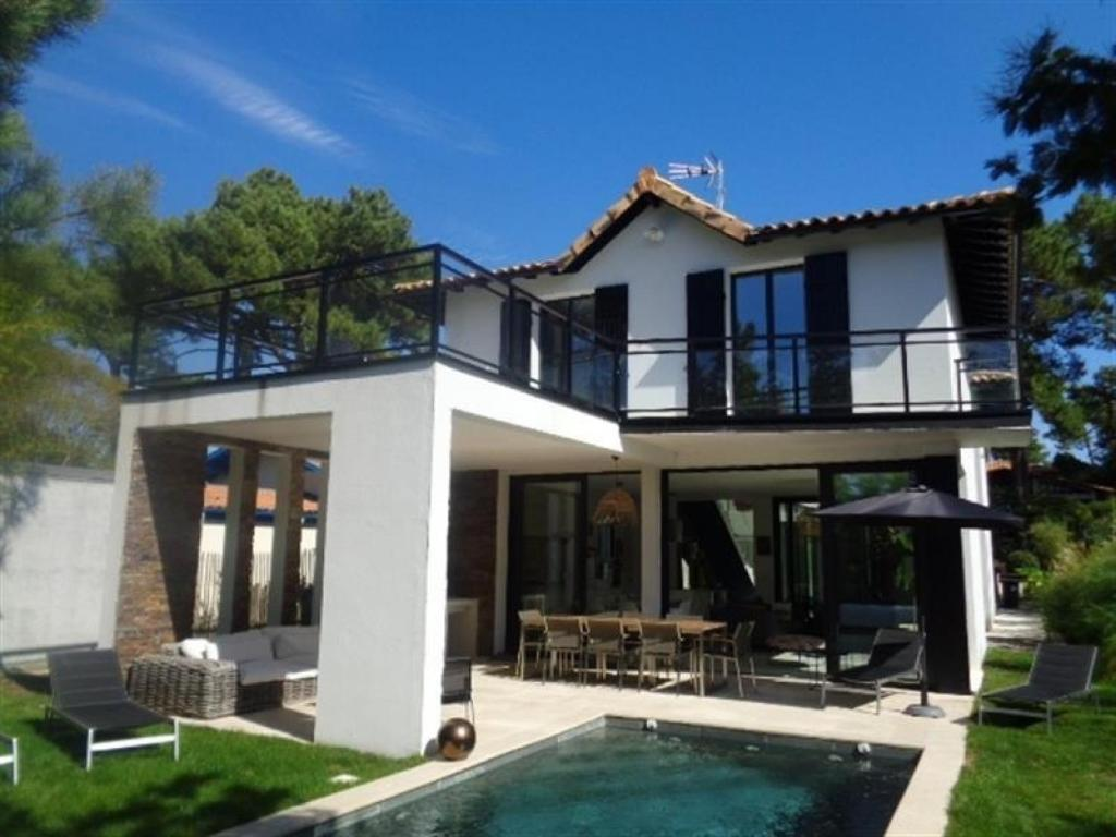 Villa Abatilles Avec Piscine Villa Arcachon