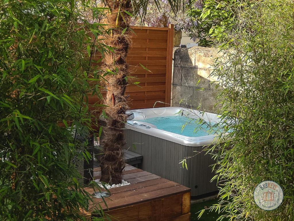 Linge De Maison Bordeaux maison de ville à bordeaux avec jardin et jacuzzi, maison de