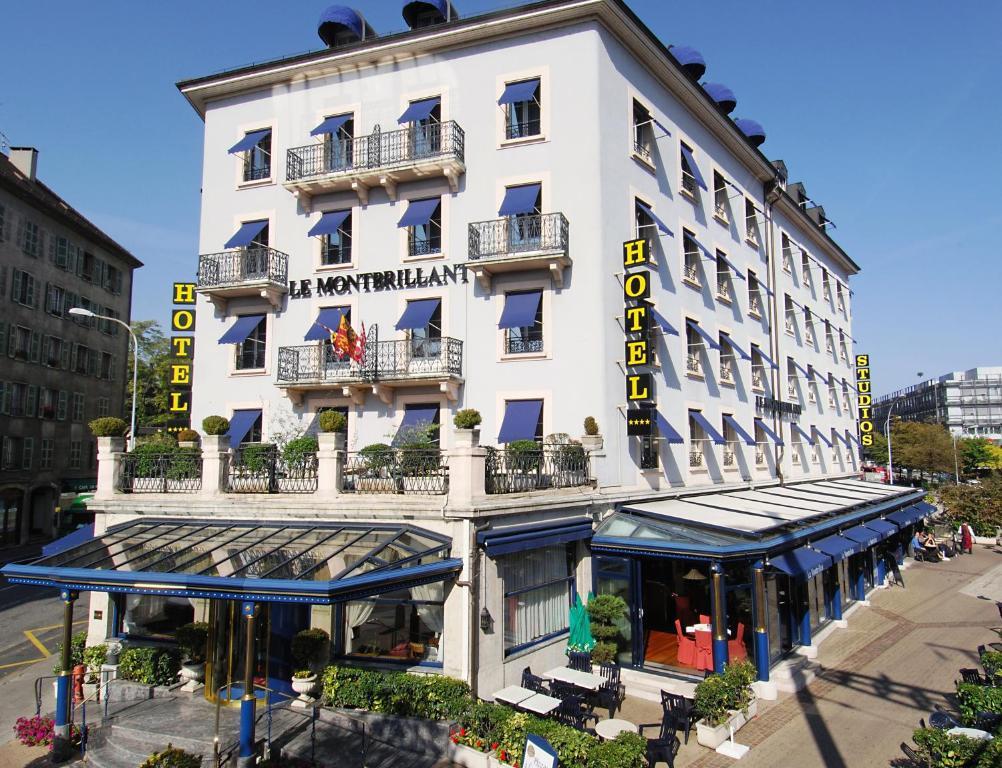 hotel montbrillant geneva book your hotel with viamichelin. Black Bedroom Furniture Sets. Home Design Ideas