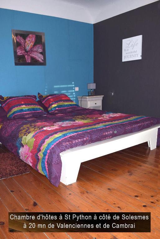 Bed & Breakfast L'enfance de l'art - St Python, Bed