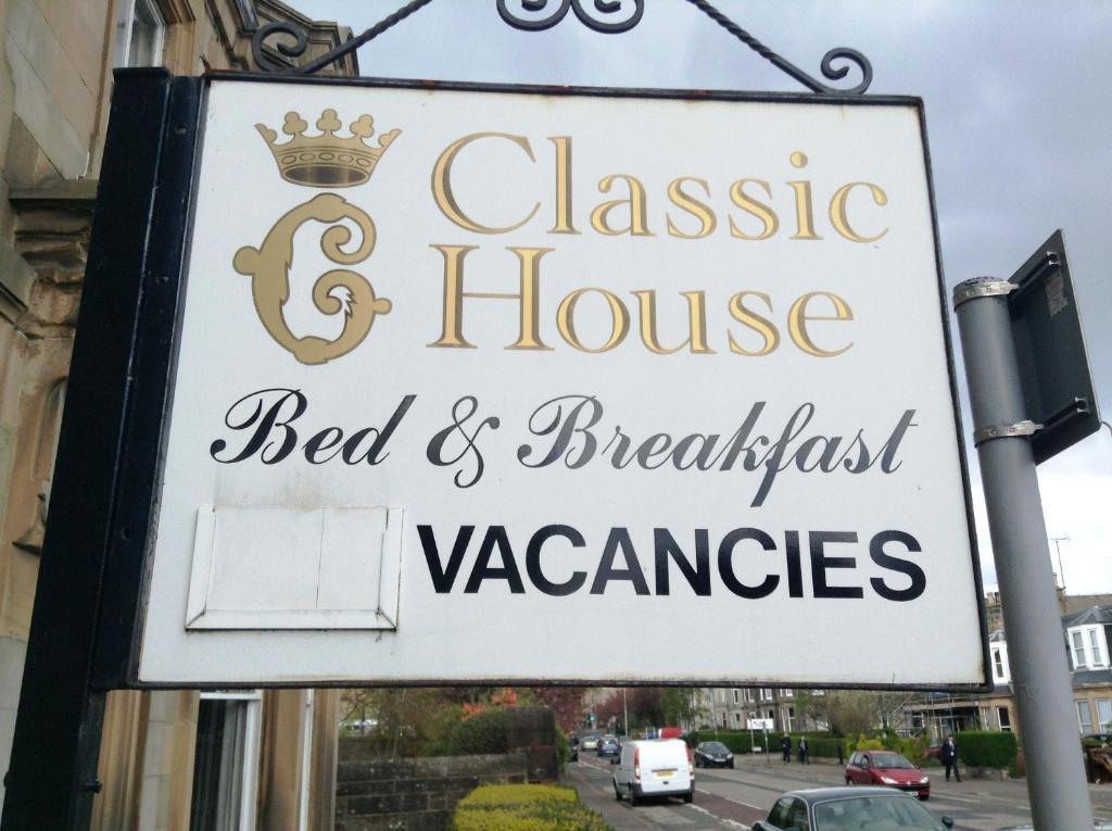 Classic guest house edinburgh viamichelin informatie for Classic house edinburgh