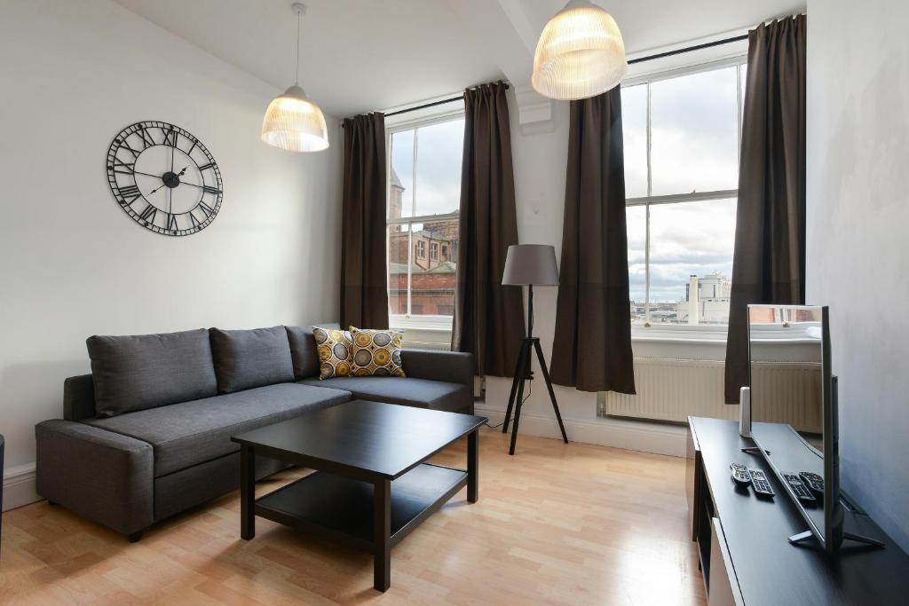 Lace Market Industrial Style Serviced Apartment, Wohnung ...