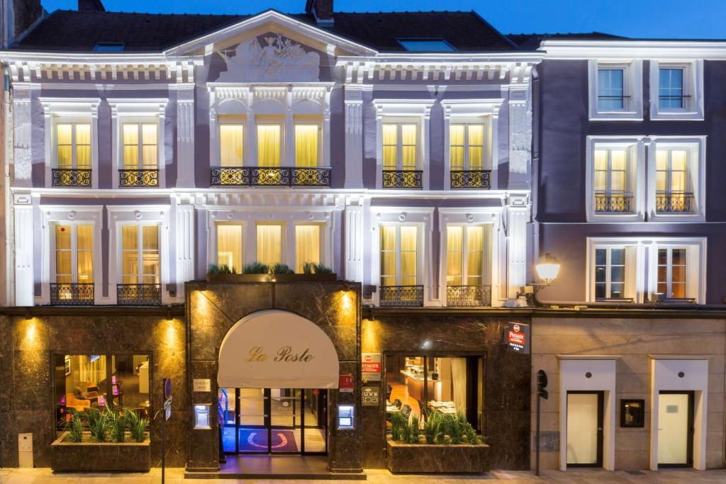 Hotel best western premier de la poste & spa troyes