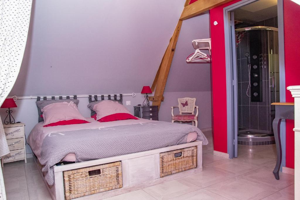 Inklapbaar Bed 2 Personen.Bed Breakfast La Tourelle Bed Breakfast Souastre