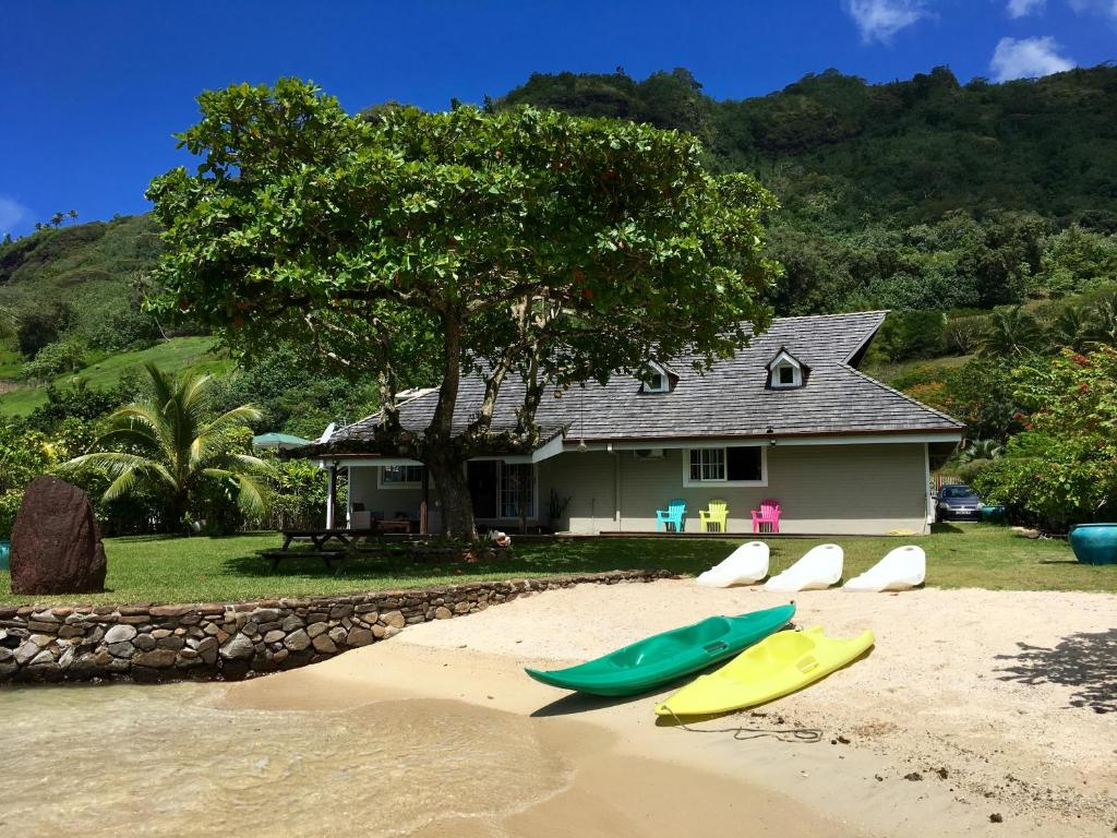 Villa Ohana Deluxe With Private Beach Moorea