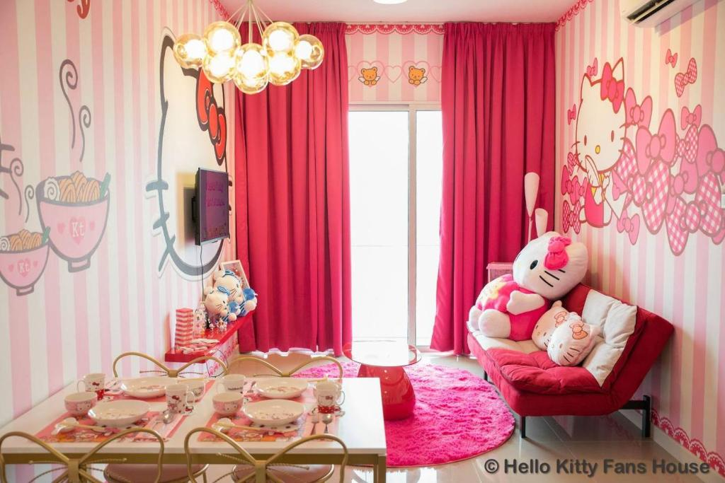 Hello Kitty Fans House Apartment Kuala