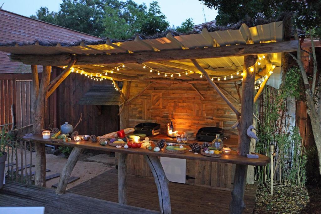 Base Camp Buitenkeuken.Bed Breakfast Camp De Base Bed Breakfast Lege Cap Ferret