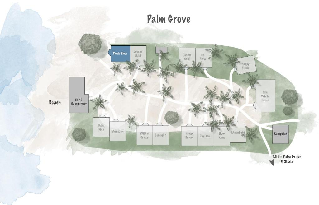 Palm Grove Beach Resort Holiday Residences Mandrem