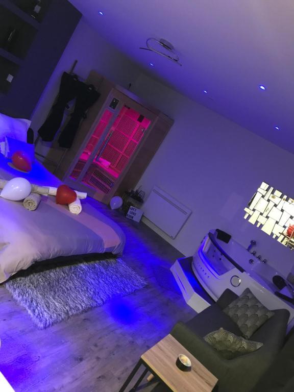 Appartement loft SPA romantique, Appartement Le Puy-en-Velay