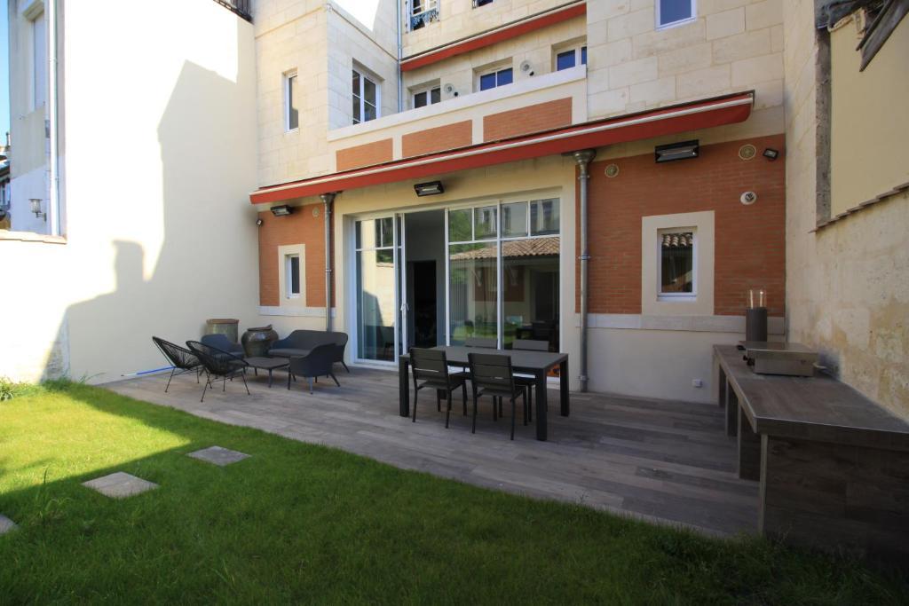 Appartement avec terrasses et suites à Bordeaux ...