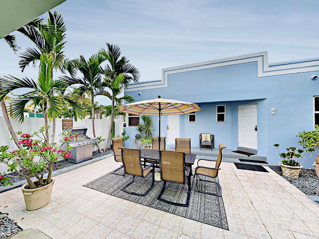 Deco Etats Unis Chambre art deco plage bungalows - maison de vacances à hollywood