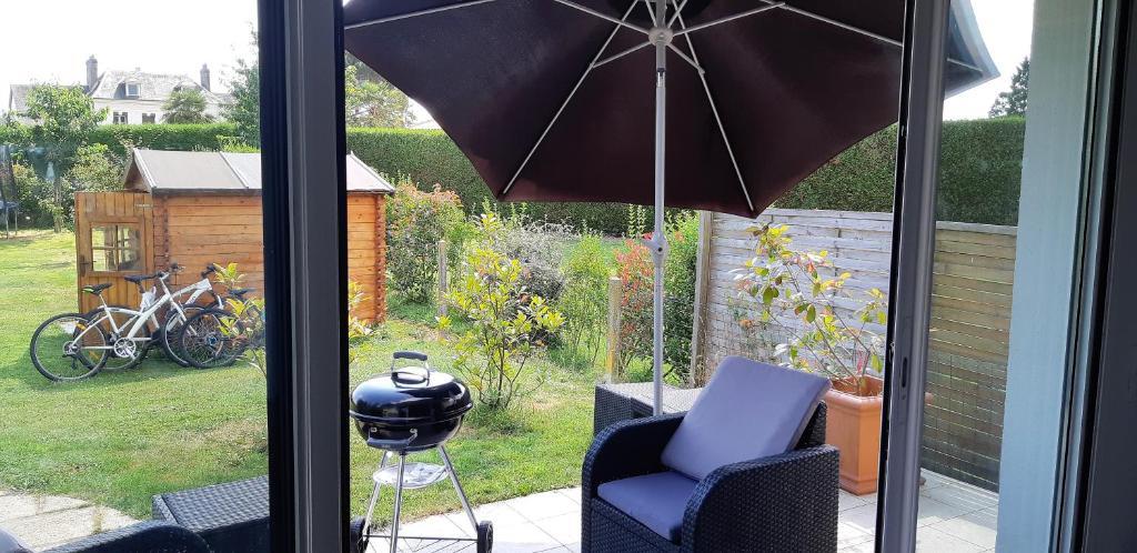 Wohnung Petite maison avec terrasse et jardin, Wohnung Caumont