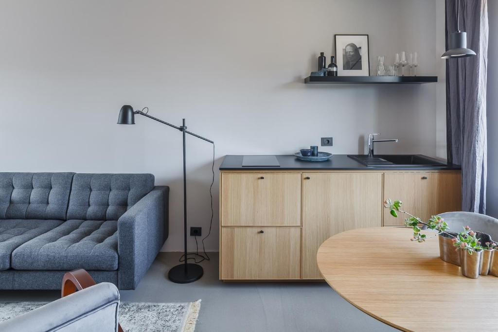 Minimalist Apartment Studio Apartments Siauliai