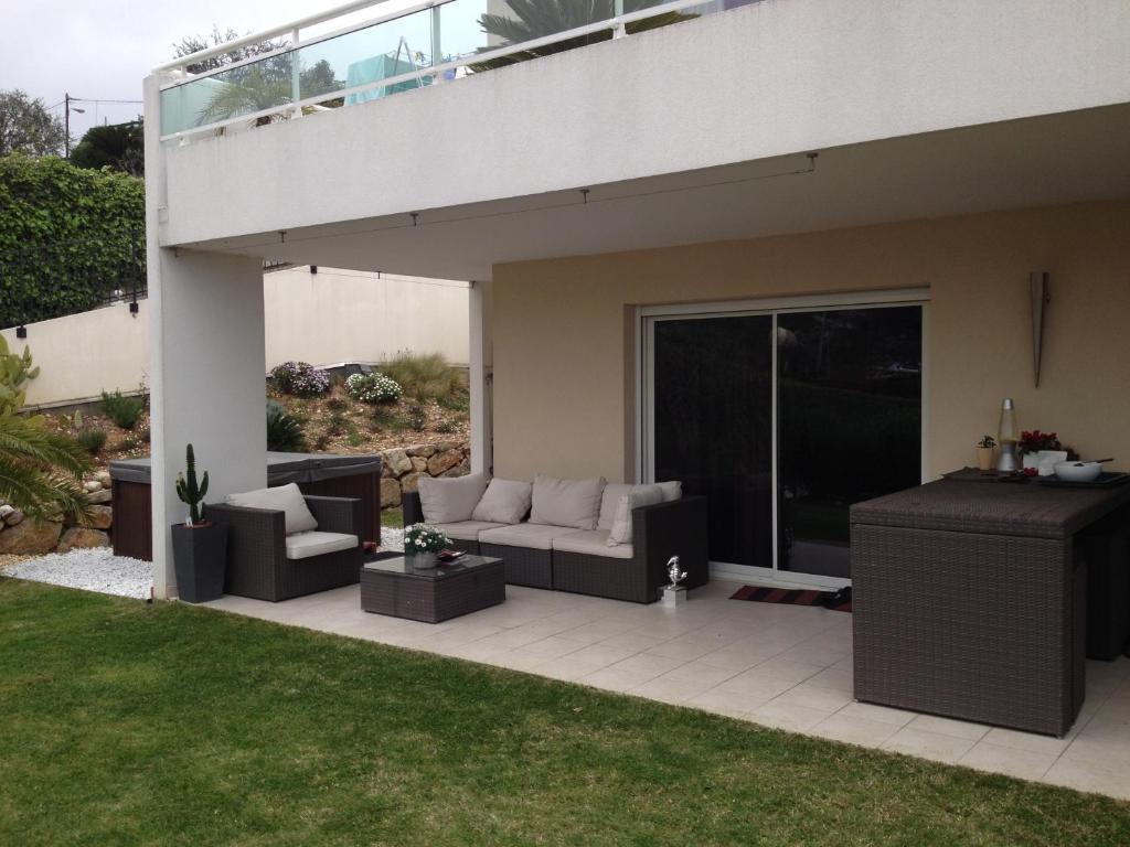 Wohnung moderne au calme avec jardin et spa, Wohnung Saint ...