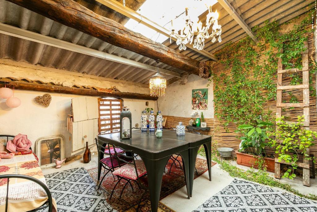 Gästezimmer La Maison du Jardin de L\'Ange, Gästezimmer Pézenas