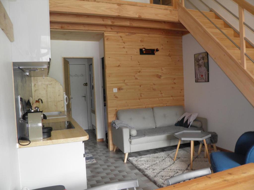 studio chambres mezzanine, Appartement Saint-Chaffrey