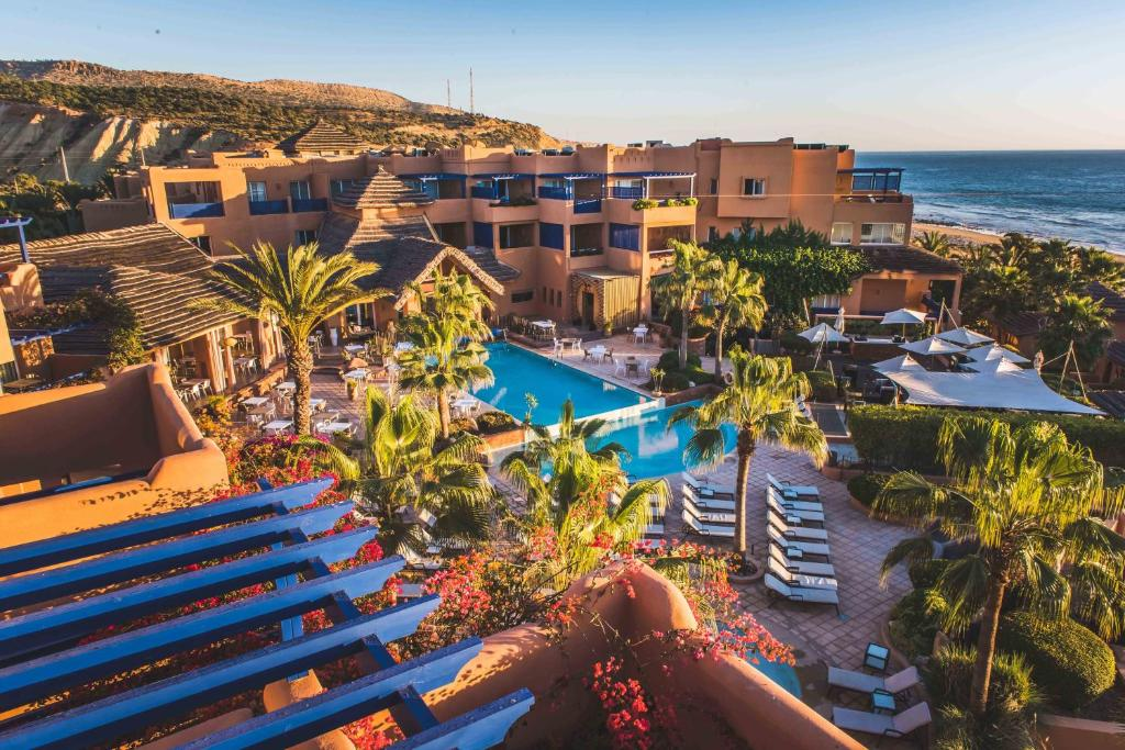 Paradis Plage Surf Yoga Spa Holiday Residences In Taghazout Morocco 18 Km From Agadir