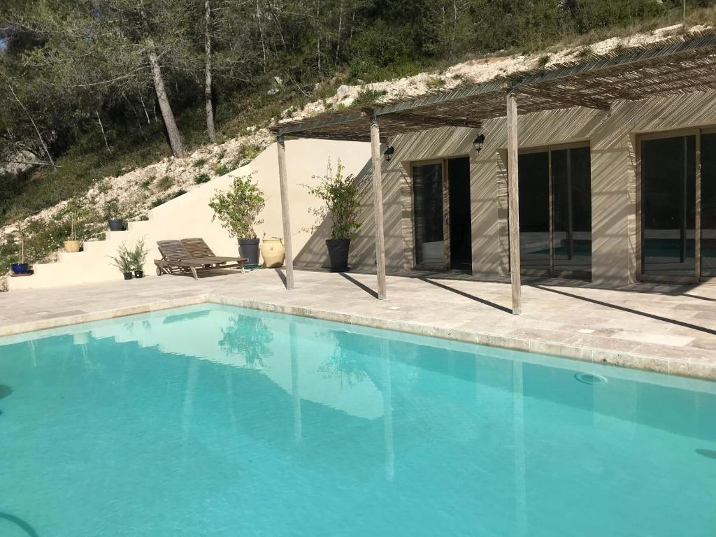 Plan De Maison Mas De Provence bed & breakfast mas de la fadeto, bed & breakfast les baux