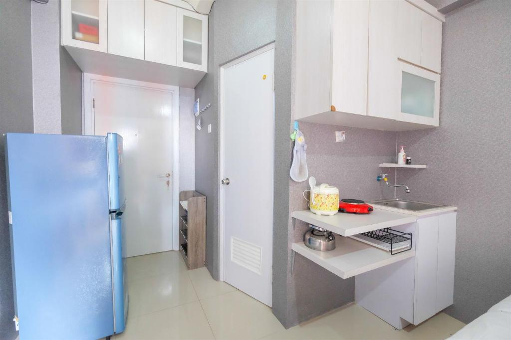Mini Studio Green Pramuka Apartment By Travelio Apartment Jakarta