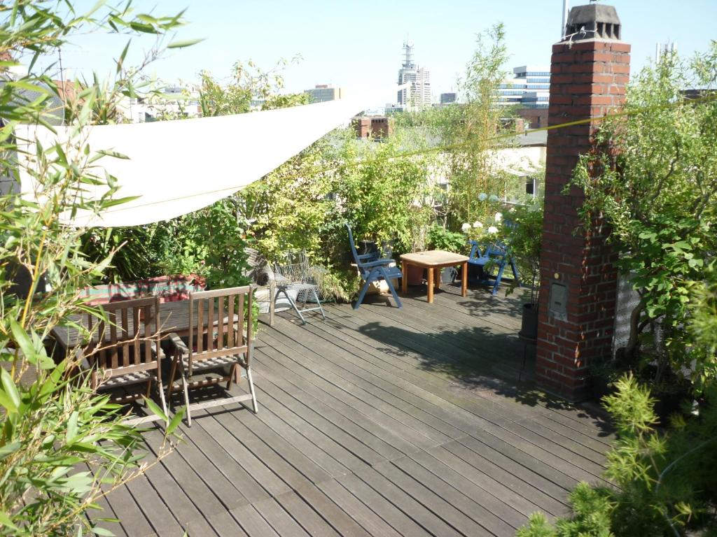Penthouse Dachterrasse Homestays Hannover