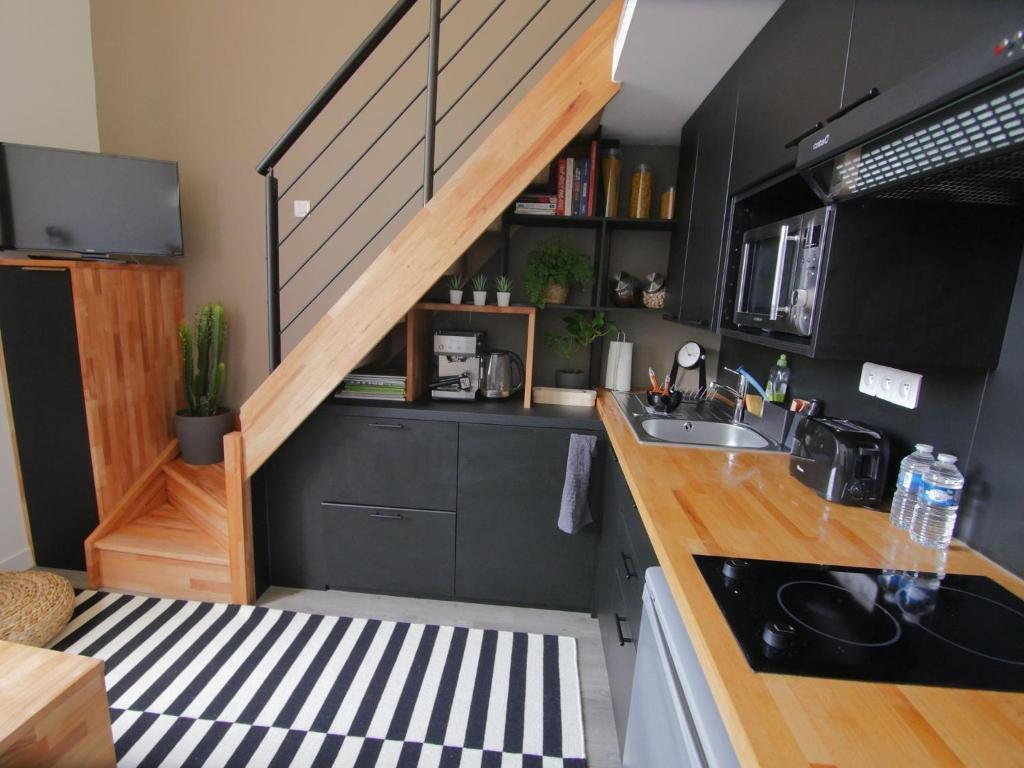 Studio avec mezzanine dans résidence de standing avec ...