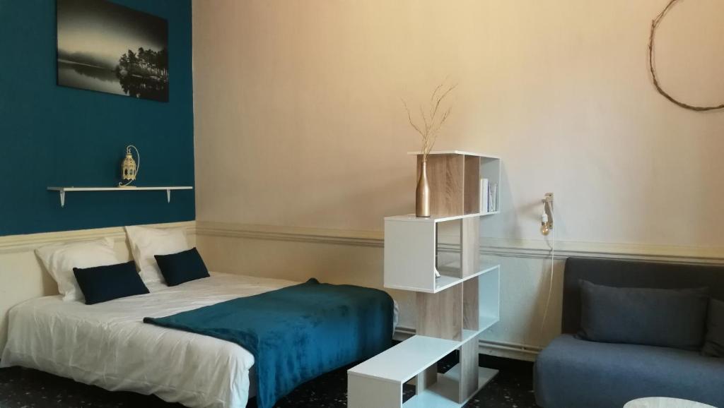 Hebergement Zen Studio Meuble Cosy Appartement Saint Vallier