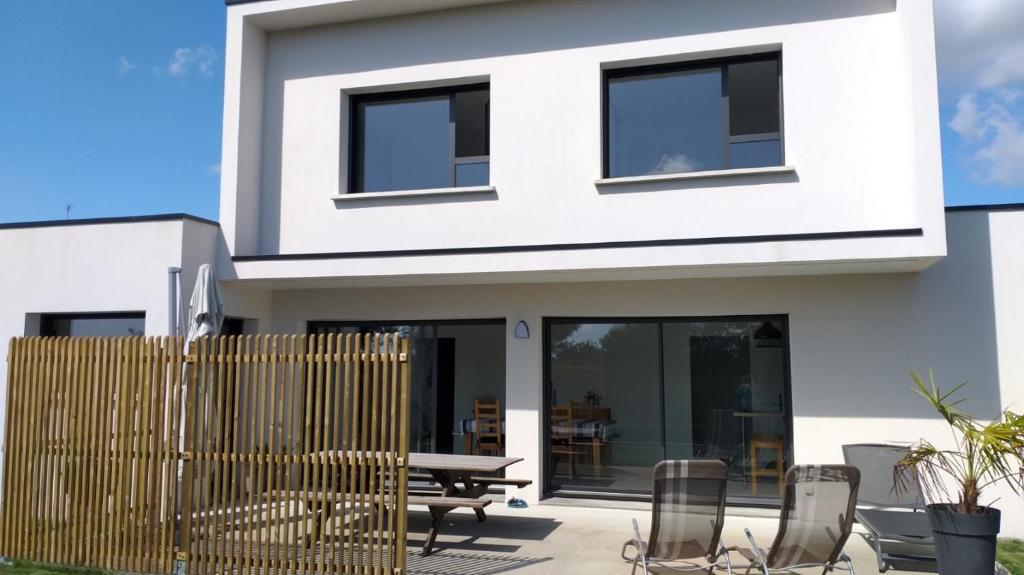 Maison moderne Golfe du Morbihan pour 8 personnes ...