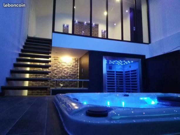 Appartement Magnifique Loft Avec Spa Et Sauna Privatif