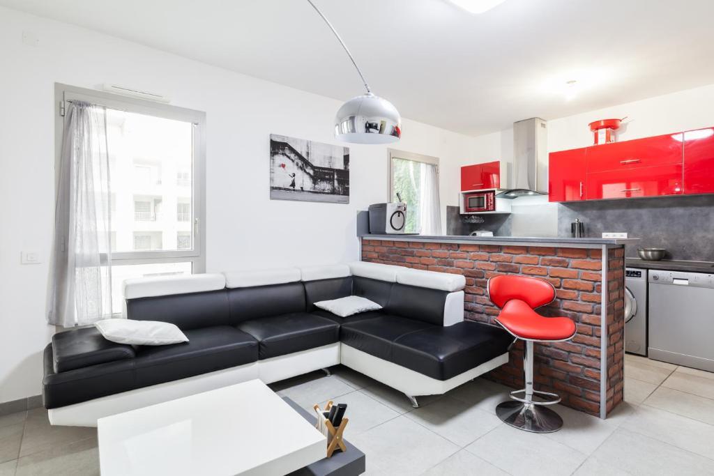 Appartamento Nice T2 Con Terrace Joliette Euromediterranée