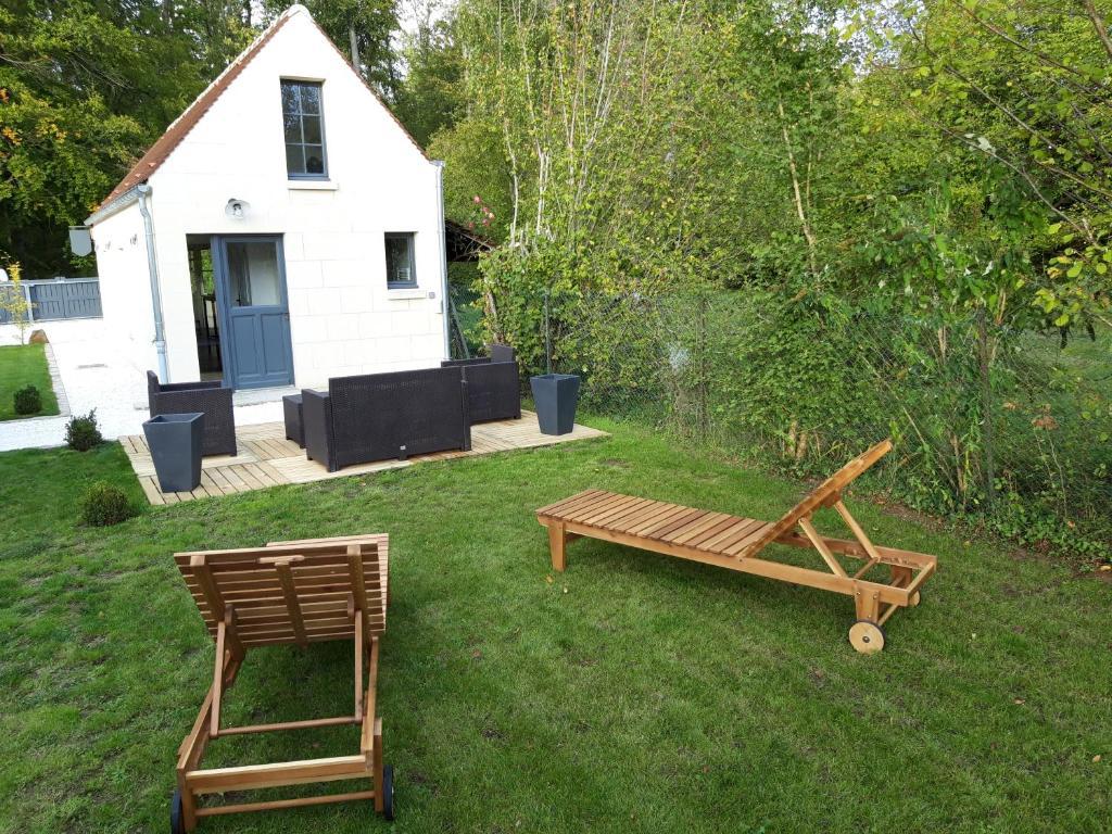 Terrasse En Bois Oise villa cocoon - villa à saint-jean-aux-bois dans l'oise (60