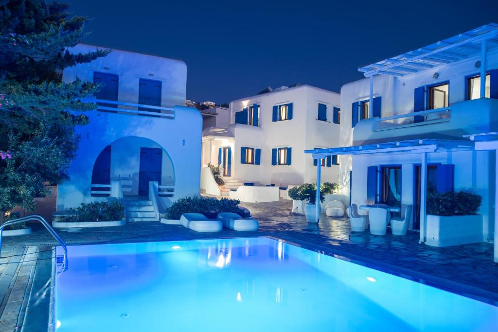 Olive Tree, Mykonos Town House with swimming-pool , Holiday home Mykonos