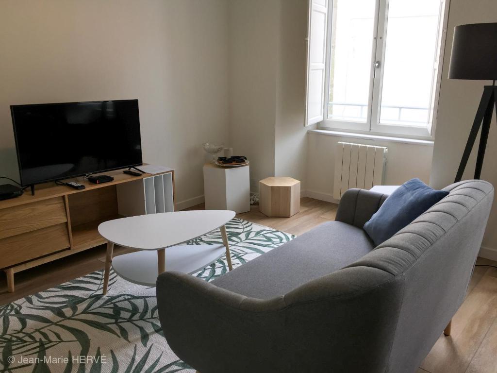 La Palmeraie Appartement Classe 4 2019 Hyper Centre Ville Appartement Quimper