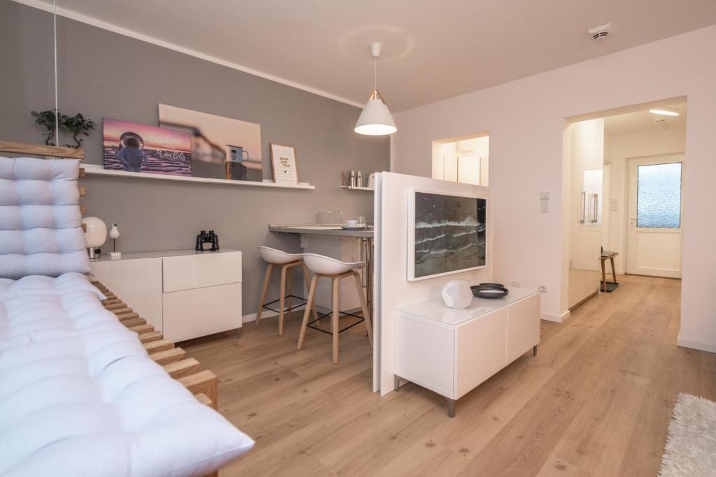 Haus Dunenbake Strandpeter Meerblick Wohnung 47 Wohnung Sankt Peter Ording