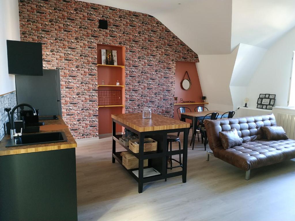 Apartamento - 16 chambre - déco industrielle, Apartamento Nevers
