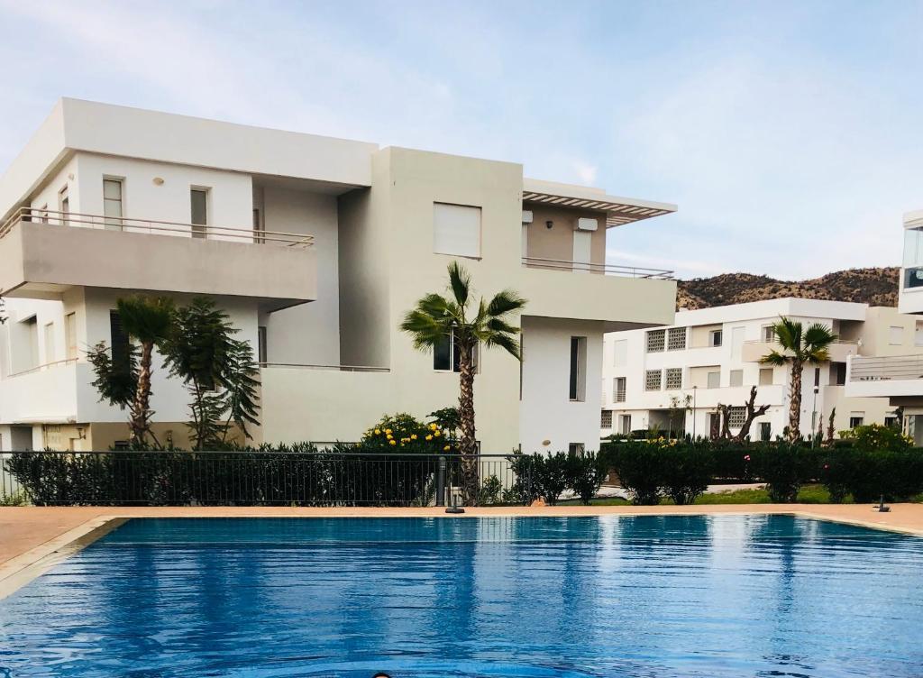 Luxury Beach Apartment Romantic Weekend Getaway Tafoult Residence Imi Ouaddar Apartment Agadir