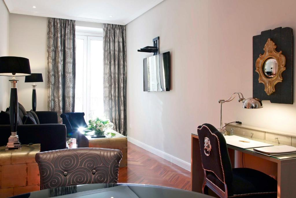 Luxury suites madrid reserve o seu hotel com viamichelin for Luxury suites madrid madrid