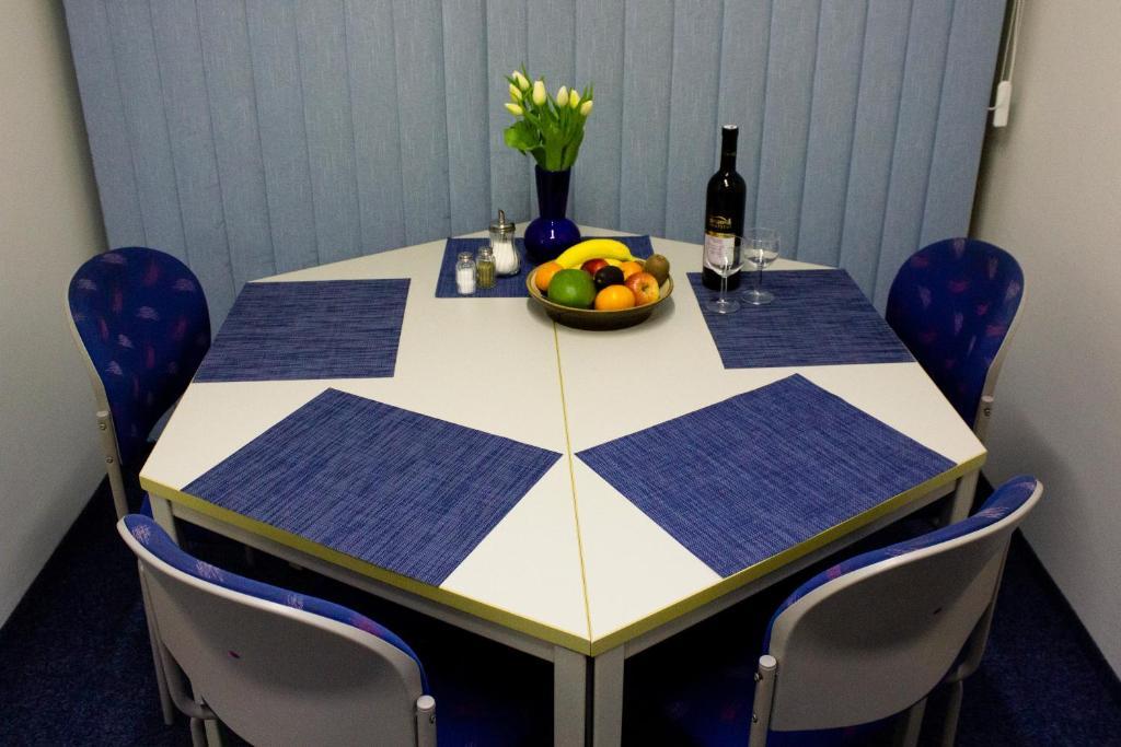 Blue Appartamento In English Style Giardino Con Atmosphere Appartamento Prague