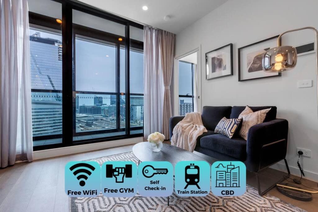 Stylist 1bed1bath Apartment West Melbourne Appartement Melbourne