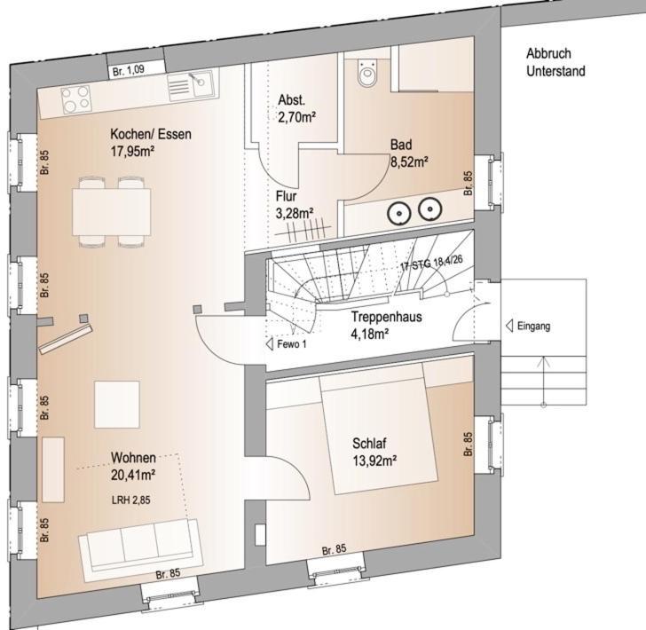 Die 74 Auszeit Im Winzerhof Bel Etage Apartment Bockenheim
