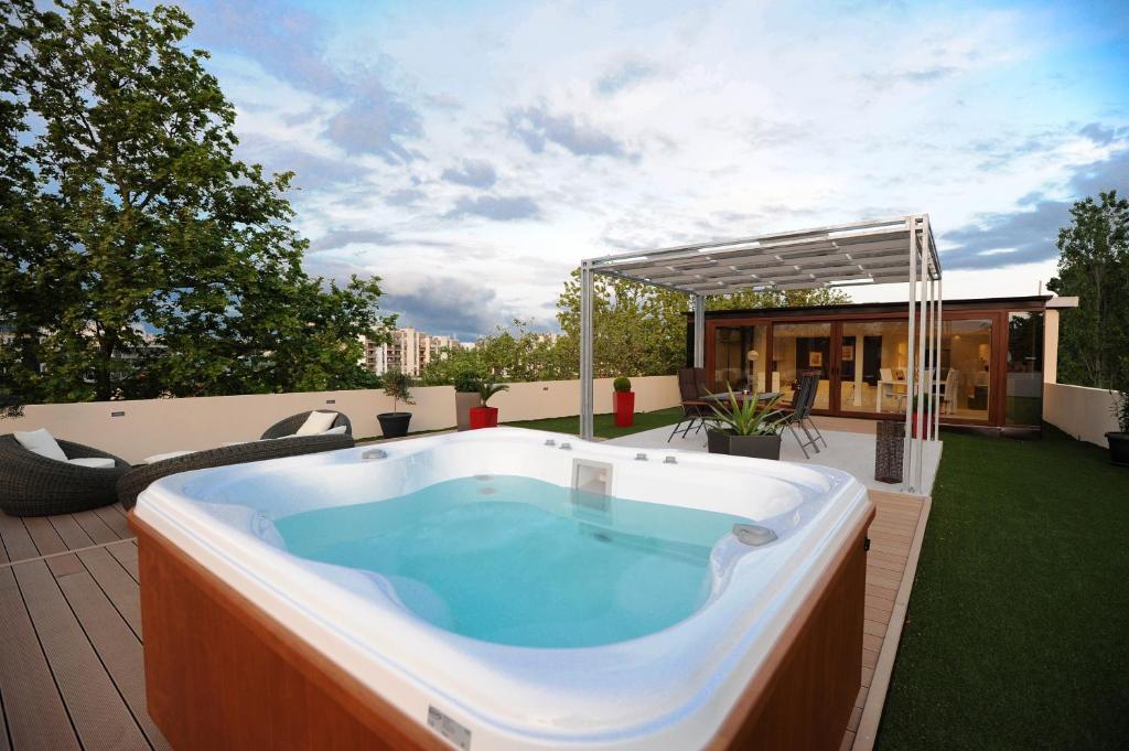 Feel Good Penthouse With Spa Apartment In Zadar Dalmatia Zadar Croatia