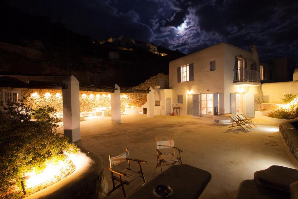 Boundless blue villas r servation gratuite sur viamichelin - Mykonos lieux d interet ...