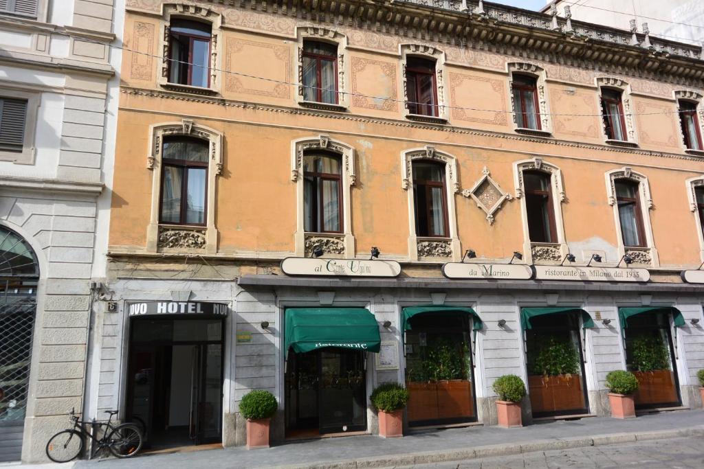Hotel nuovo milano viamichelin informatie en online for Hotel nuovo milano