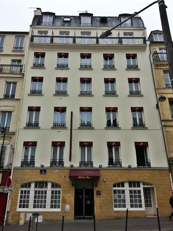 Pax hotel paris 18e r servation gratuite sur viamichelin for Reservation hotel paris